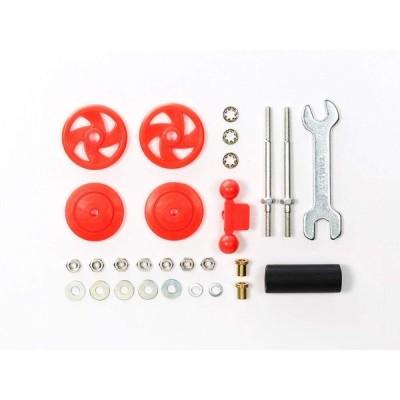 ミニ四駆 大径スタビヘッドセット 17mm レッド 95402 TAMIYA タミヤ 2-512018092101