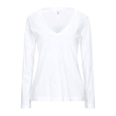 EUROPEAN CULTURE T シャツ ホワイト S コットン 100% T シャツ
