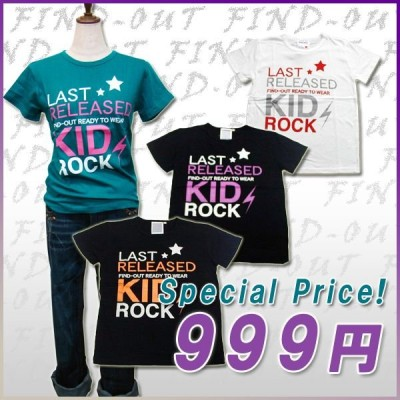FIND-OUT(ファインドアウト)レディース Tシャツ-KIDROCK-