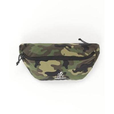 バッグ ウエストポーチ 【GRAMICCI/グラミチ】ウエストバッグ ワンポイント ブランドロゴ 迷彩 ボディバッグ/BAG
