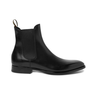 DUNHILL ショートブーツ ブラック 47 革 ショートブーツ