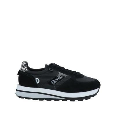 ETONIC スニーカー&テニスシューズ(ローカット) ブラック 37 革 / 紡績繊維 スニーカー&テニスシューズ(ローカット)