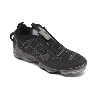 ナイキ スニーカー シューズ メンズ Men's Air VaporMax 2020 Flyknit Running Sneakers from Finish Line Black, Off Noire