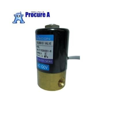 日本精器 2方向電磁弁6AAC200V717CS BN-717CSV201-6-E200▼395-4391日本精器(株)