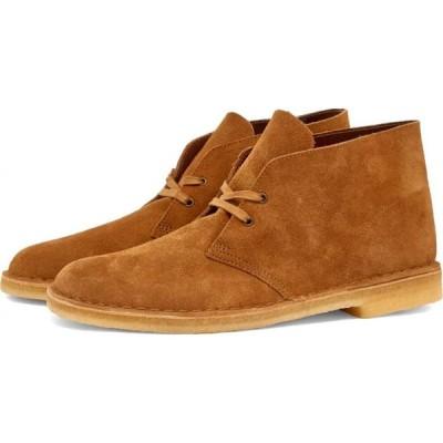 クラークス Clarks Originals メンズ ブーツ シューズ・靴 desert boot Nutmeg Suede