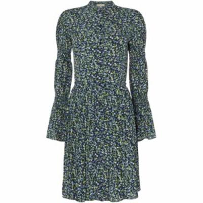 マイケル コース MICHAEL Michael Kors レディース ワンピース シャツワンピース ワンピース・ドレス Smock sleeve shirt dress Multi-Co