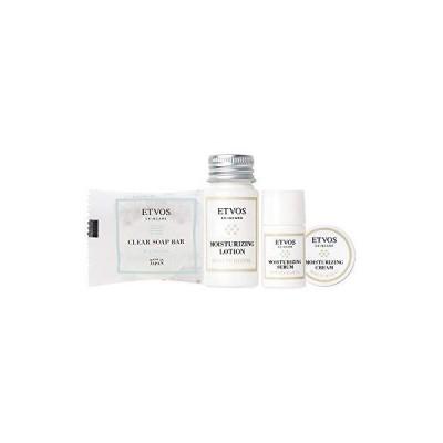 ETVOS(エトヴォス) モイスチャーライントラベルセット 2週間お試し[洗顔石鹸/化粧水/美容液/保湿クリーム] (現行品(2020年版))