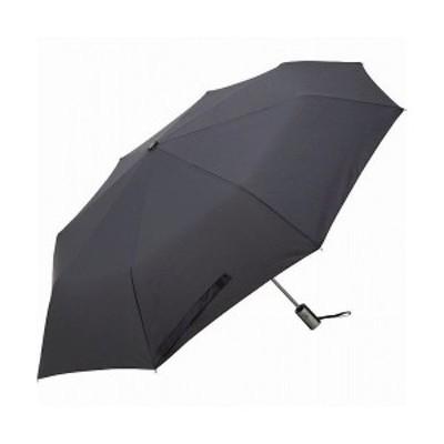 65cm耐風式 自動開閉傘 黒 2009‐BK 21-0268-140(代引不可)