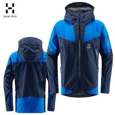HAGLOFS ホグロフス Roc Spire Jacket Men 19-20 シェルジャケット ゴアテックス メンズ StormBlue 604357