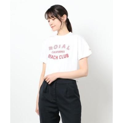 tシャツ Tシャツ DESIGN TEE/ roial ロイアル レディース Tシャツ 半袖 ロゴT