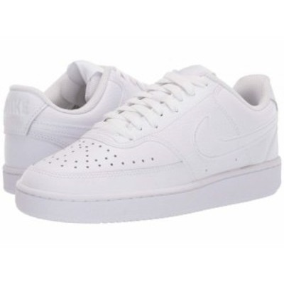 Nike ナイキ レディース 女性用 シューズ 靴 スニーカー 運動靴 Court Vision Low White/White/White【送料無料】