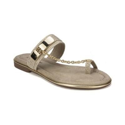 リアルト レディース サンダル シューズ Zoria Flat Sandals Gold