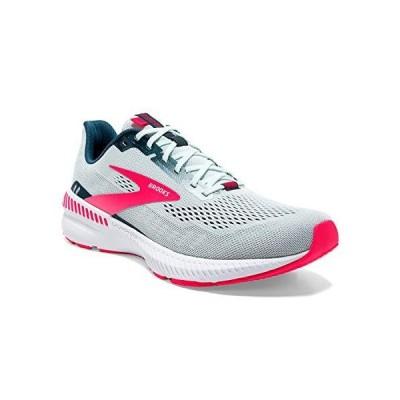 Brooks Launch GTS 8 Women's Supportive Running Shoe (Ravenna) - Ice Flow/Navy/Pink - 5