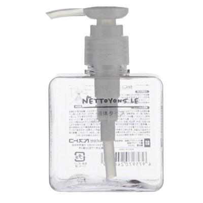 ベストコ ネトヨン・レ ディスペンサー(スクエア 250ml/ クリア) 詰め替えボトル ND-4333 返品種別A