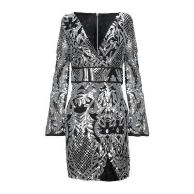 MANGANO ミニワンピース&ドレス シルバー M ポリエーテル 95% / ポリウレタン 5% ミニワンピース&ドレス
