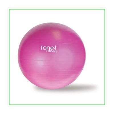 トーンフィットネススタビリティボール、55cm、ピンク