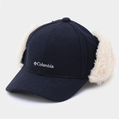 帽子・防寒・エプロン コロンビア ALASKA HEIGHTS FLAP CAP(アラスカ ハイツファー フラップ キャップ) フリー 464(Collegiate Navy)