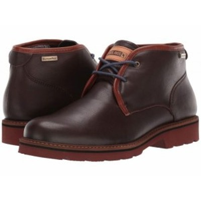 Pikolinos メンズ 男性用 シューズ 靴 ブーツ チャッカブーツ Bilbao Waterproof M6E-SY8320 Olmo【送料無料】
