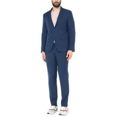 DOMENICO TAGLIENTE スーツ ブルー 54 ポリエステル 65% / レーヨン 35% スーツ