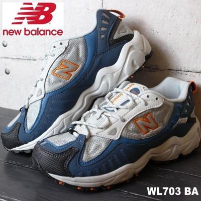ニューバランス WL703 BA GRAY/BLUE new balance WL703BA スニーカー レディース アウトドア トレイル ダッド系