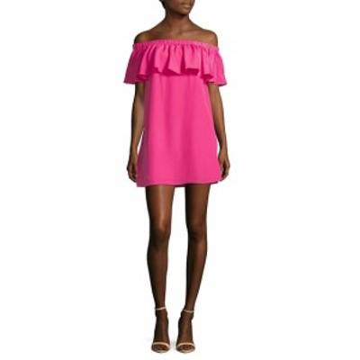ライクリー レディース ワンピース Off-the-Shoulder Ruffle Dress
