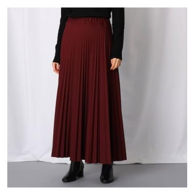 【ジェット/JET】 【WEB限定カラーあり/洗える】ウエストゴム クロップドプリーツスカート
