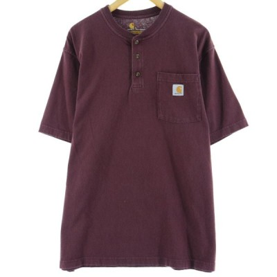 カーハート ワンポイントロゴポケットTシャツ XL /eaa063624