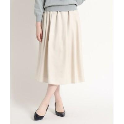 SunaUna/スーナウーナ アンスパンローンギャザースカート ライトベージュ(051) 36(S)