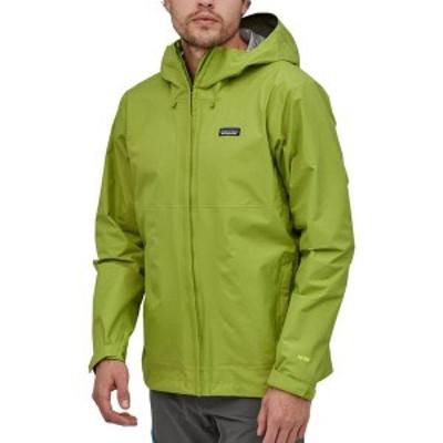 パタゴニア メンズ ジャケット・ブルゾン アウター Patagonia Men's Torrentshell 3L Rain Jacket Supply Green