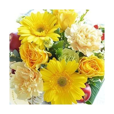 エルフルール 花 カラーが選べる バラ カーネーション ガーベラ アレンジメント 贈り物 プレゼント フラワー ギフト 誕生日 結婚祝い (