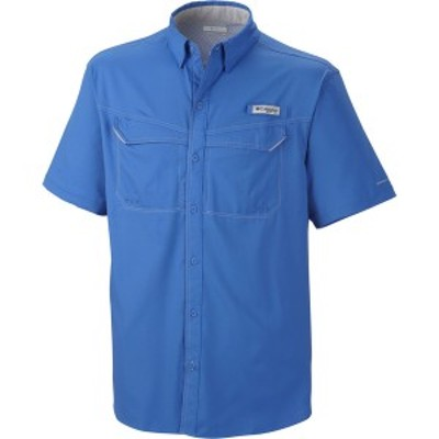 コロンビア メンズ シャツ トップス Low Drag Offshore Short-Sleeve Shirt Vivid Blue