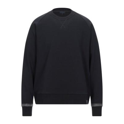 ランバン LANVIN スウェットシャツ ブラック S コットン 100% / レーヨン スウェットシャツ