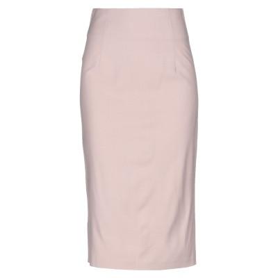 ピンコ PINKO 7分丈スカート ピンク 40 レーヨン 53% / ウール 45% / ポリウレタン 2% 7分丈スカート