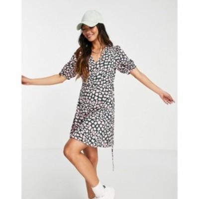ホイッスルズ Whistles レディース ワンピース ラップドレス ワンピース・ドレス exclusive animal printed wrap jersey dress in multi
