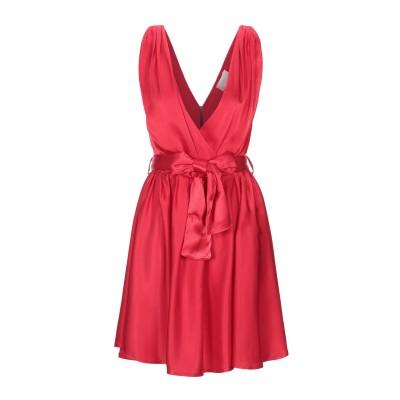 VICOLO ミニワンピース&ドレス レッド M レーヨン 100% ミニワンピース&ドレス