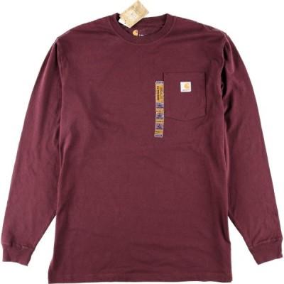 DEADSTOCK カーハート ポケット ロングTシャツ XL /eaa003491