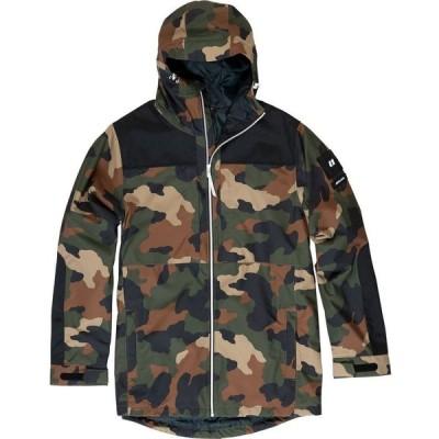 アルマダ Armada メンズ スキー・スノーボード ジャケット アウター Bergs Insulated Jacket Camo