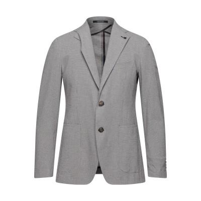 タリアトーレ TAGLIATORE テーラードジャケット ブラック 54 コットン 98% / ポリウレタン 2% テーラードジャケット