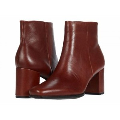 ECCO エコー レディース 女性用 シューズ 靴 ブーツ アンクル ショートブーツ Shape 60 Squared Ankle Bootie Cognac【送料無料】