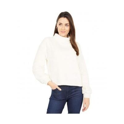 Sanctuary サンクチュアリ レディース 女性用 ファッション セーター Softie Popover Chenile Turtleneck Sweater - Milk
