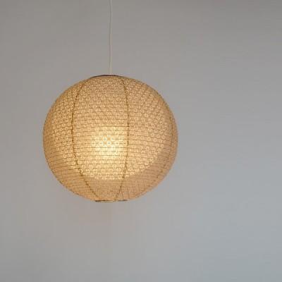 彩光デザイン 和照明 二重提灯 ペンダントライト 1灯 【電球別売】 SPN1-1101-koume 小梅茶in小梅白 日本製 和風照明 和紙照明