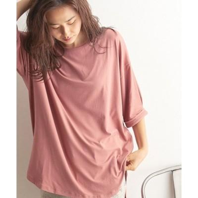 tシャツ Tシャツ 【ソフトタッチ】【吸汗速乾】ビッグシルエットTシャツ