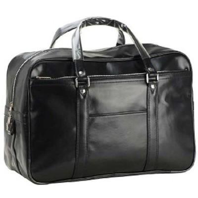 国産 豊岡製 BOSTON 合皮ボストン ショルダー 銀行ボストン メンズ ビジネスバッグ B4F 45cm #10020