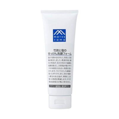M-mark series 竹炭と塩のせっけん洗顔フォーム 洗顔料