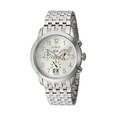 ROBERTO BIANCI WATCHES Men's Donati Swiss-Quartz Watch with Stainless-Steel Strap, Silver, 14 (Model: RB18572) 並行輸入品