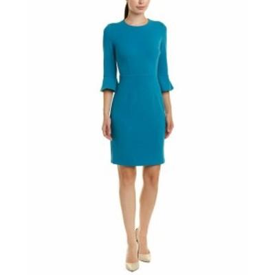 bell ベル ファッション ドレス Donna Morgan 3/4 Slv Bell Stretch Crepe Dress