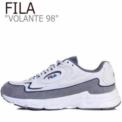 フィラ スニーカー FILA メンズ レディース VOLANTE 98 ボランチ98 WHITE ホワイト GREY グレー GREEN グリーン FS1HTB1174X シューズ