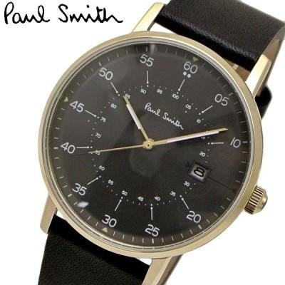 ポールスミス Paul Smith 腕時計 メンズ ゲージ Gauge グレー文字盤 P10076
