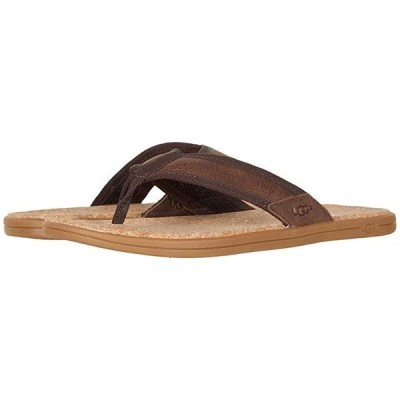 アグオーストラリア Seaside Flip メンズ サンダル Chestnut Leather