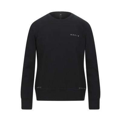 メッサジェリエ MESSAGERIE スウェットシャツ ブラック L コットン 55% / ナイロン 40% / ポリウレタン 5% スウェットシャツ